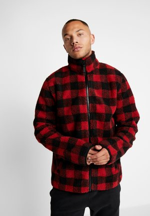 BRETT - Fleece jacket - red