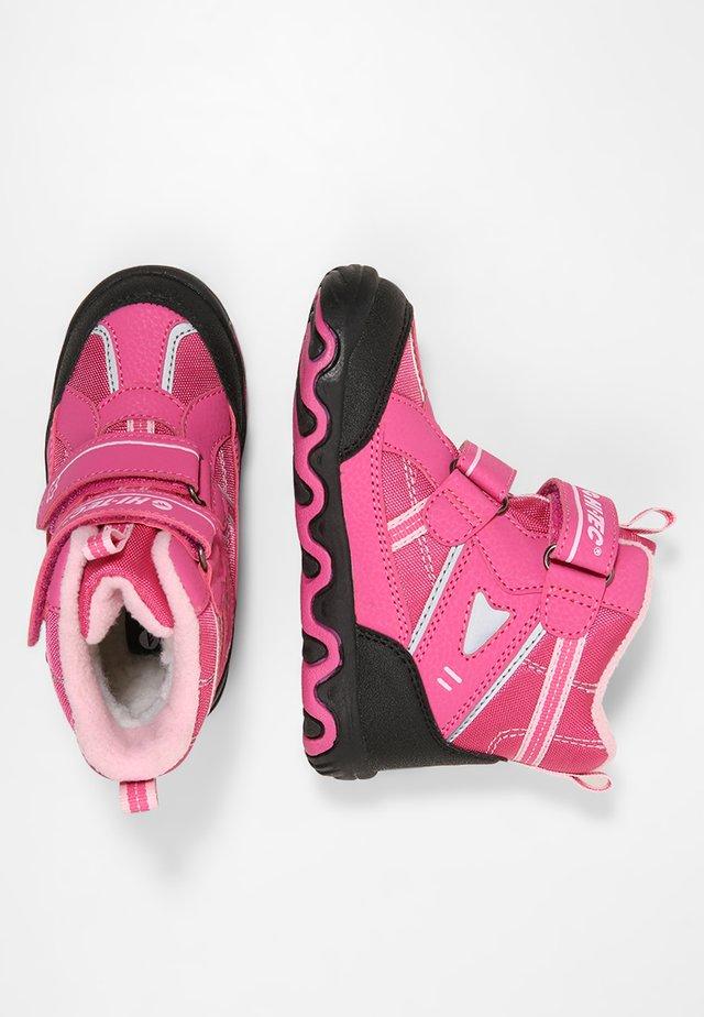 BLIZZARD - Vinterstövlar - pink