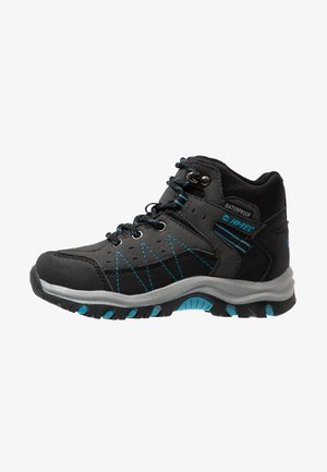 SHIELD WP - Outdoorschoenen - dark grey/black/lake blue
