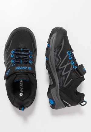 BLACKOUT LOW - Trekingové boty - black/blue