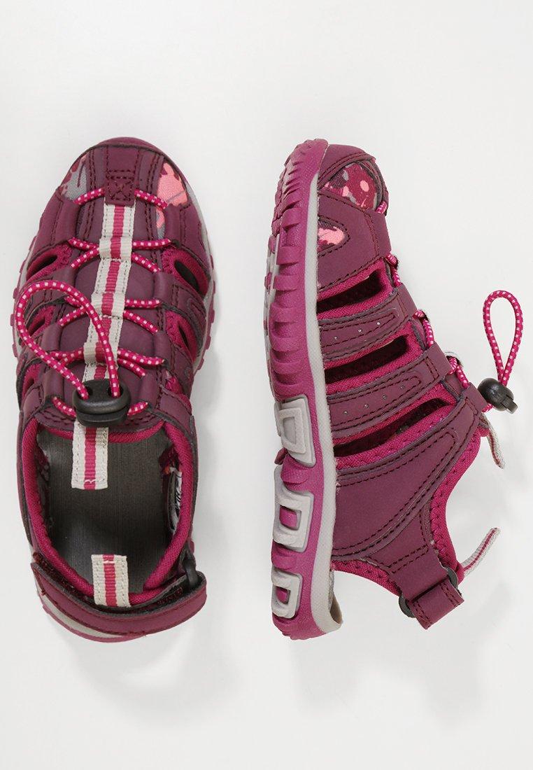 Hi-Tec - COVE - Walking sandals - grape wine/amaranth/boysenberry