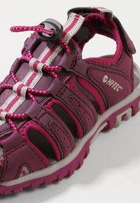 Hi-Tec - COVE - Walking sandals - grape wine/amaranth/boysenberry - 2