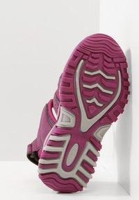 Hi-Tec - COVE - Walking sandals - grape wine/amaranth/boysenberry - 5