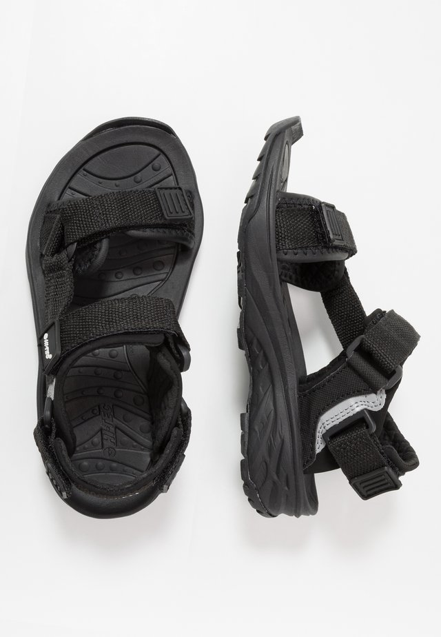 ULA RAFT - Outdoorsandalen - black