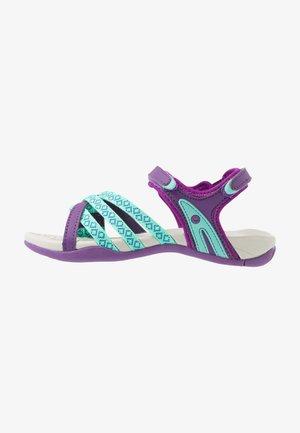 SAVANNA II - Walking sandals - purple