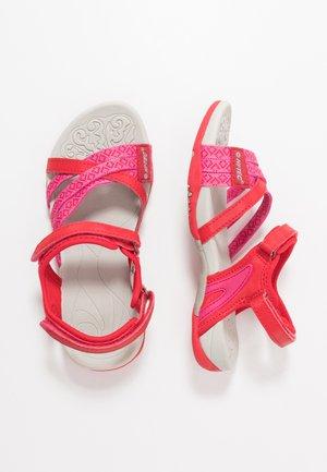 SAVANNA II - Sandalias de senderismo - pink