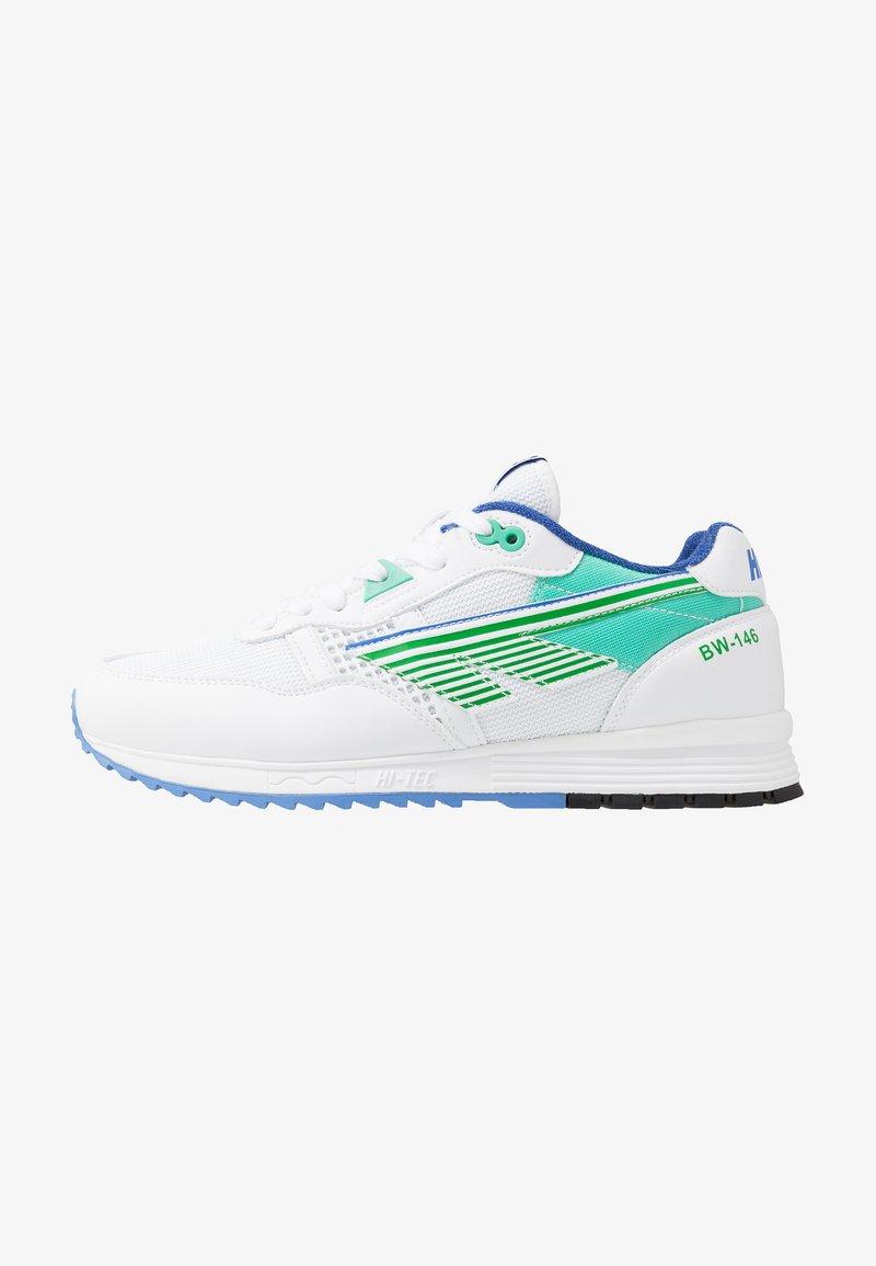 Hi-Tec - BW 146 - Sports shoes - white/evergreen/purple