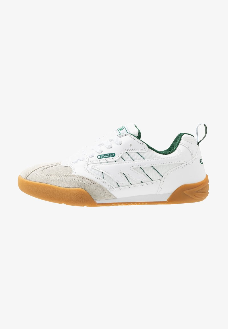 Hi-Tec - SQUASH CLASSIC - Chaussures de running neutres - white/green