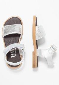 Hip - Sandaalit nilkkaremmillä - silver - 0