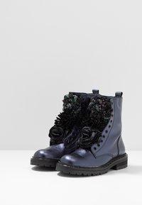 Hip - Classic ankle boots - dark blue metallic - 3