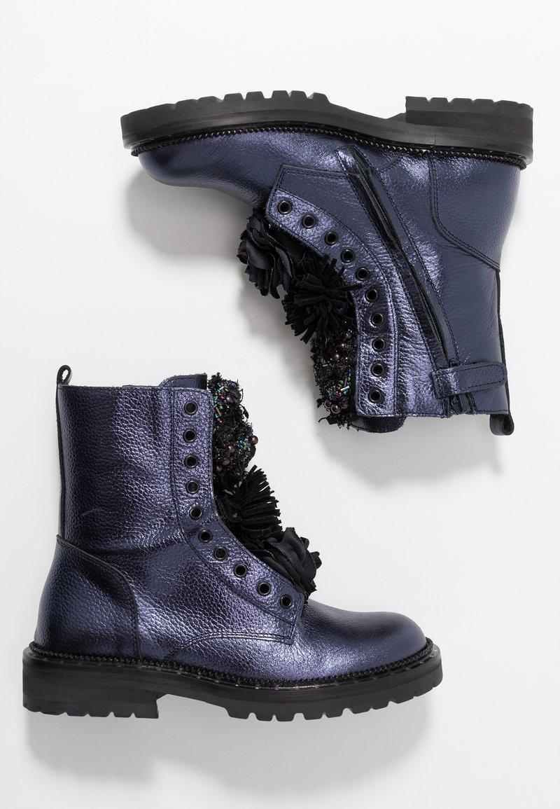Hip - Classic ankle boots - dark blue metallic