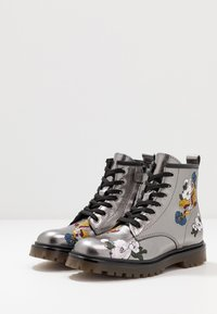 Hip - Lace-up ankle boots - dark silver - 3