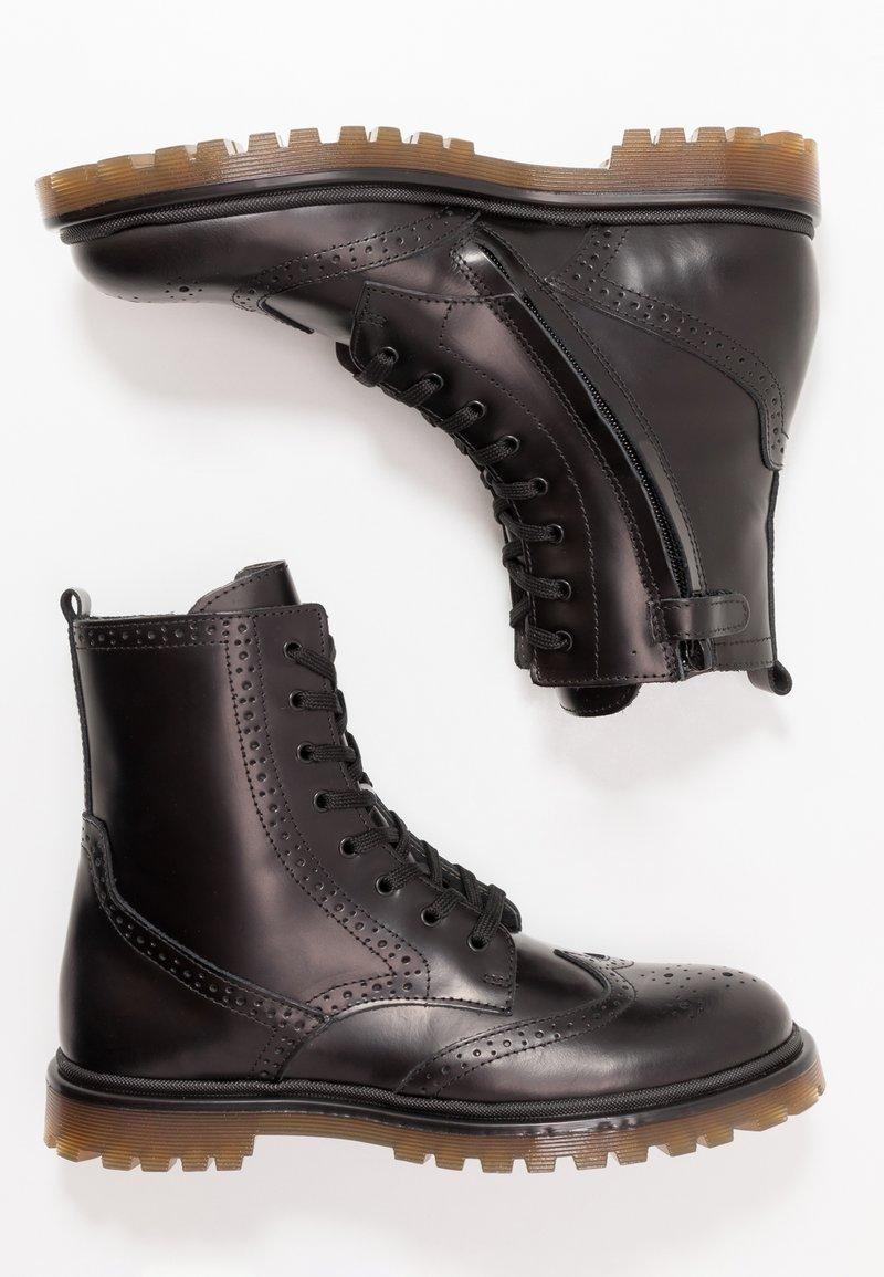 Hip - Lace-up ankle boots - black
