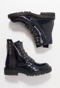 Hip - Šněrovací kotníkové boty - dark blue - 0
