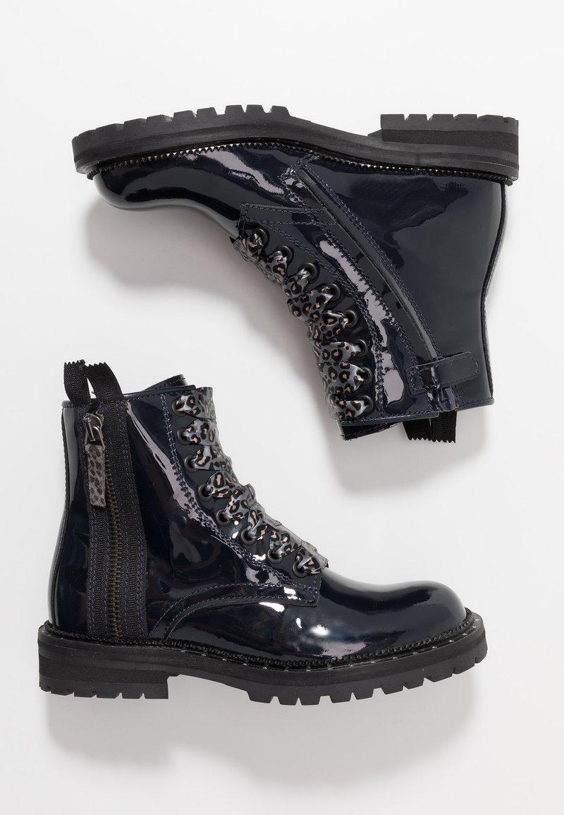 Hip - Šněrovací kotníkové boty - dark blue