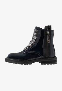 Hip - Šněrovací kotníkové boty - dark blue - 1