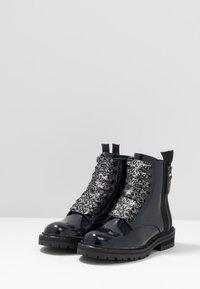 Hip - Šněrovací kotníkové boty - dark blue - 3