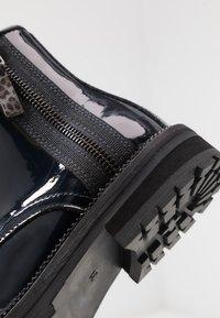 Hip - Šněrovací kotníkové boty - dark blue - 2