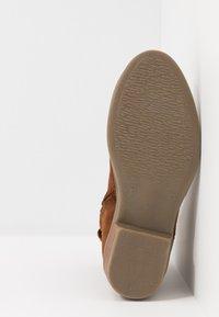 Hip - Cowboy/biker ankle boot - mid brown - 5
