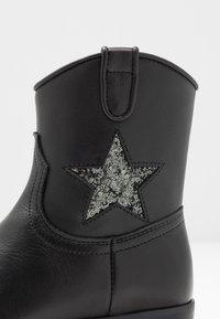Hip - Cowboy/biker ankle boot - black - 2