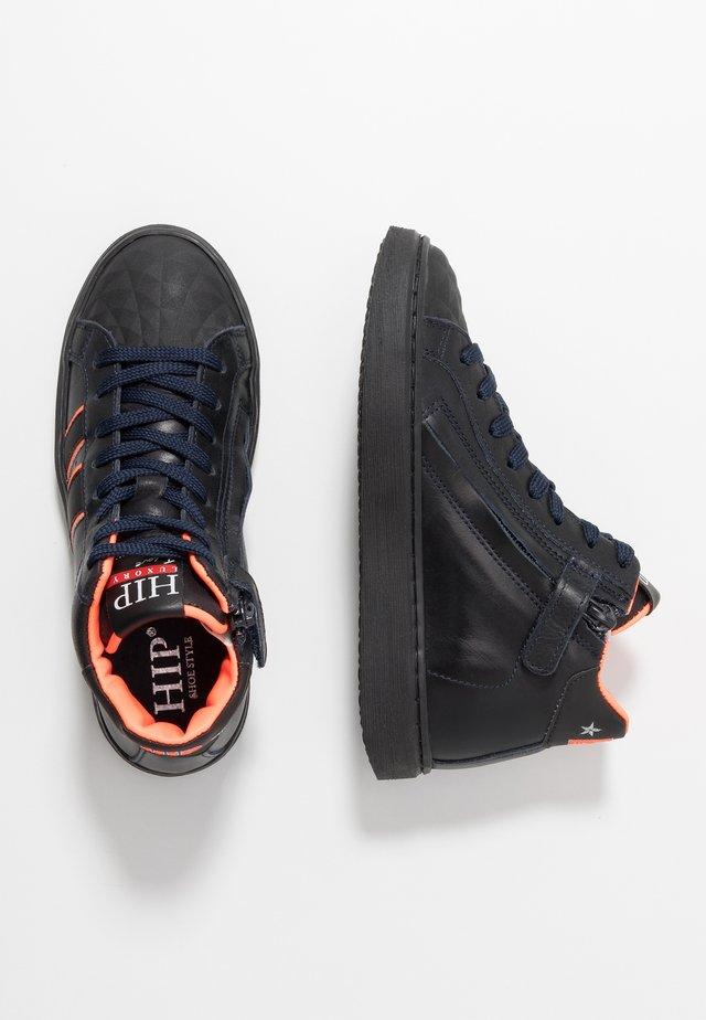 Sneakersy wysokie - dark blue