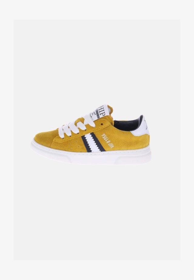 Sneakers laag - gelb