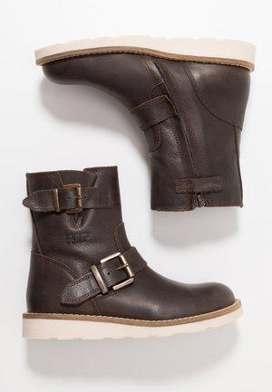 Bottines - dark brown