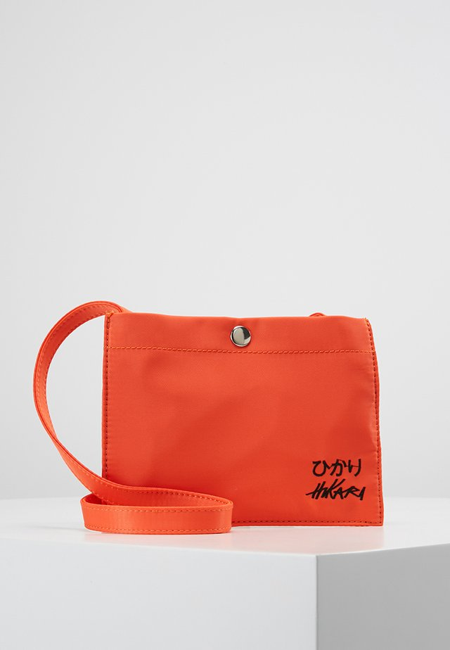 NECK POUCH - Across body bag - orange