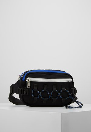 CLIMBERS BUM BAG - Bæltetasker - black/blue