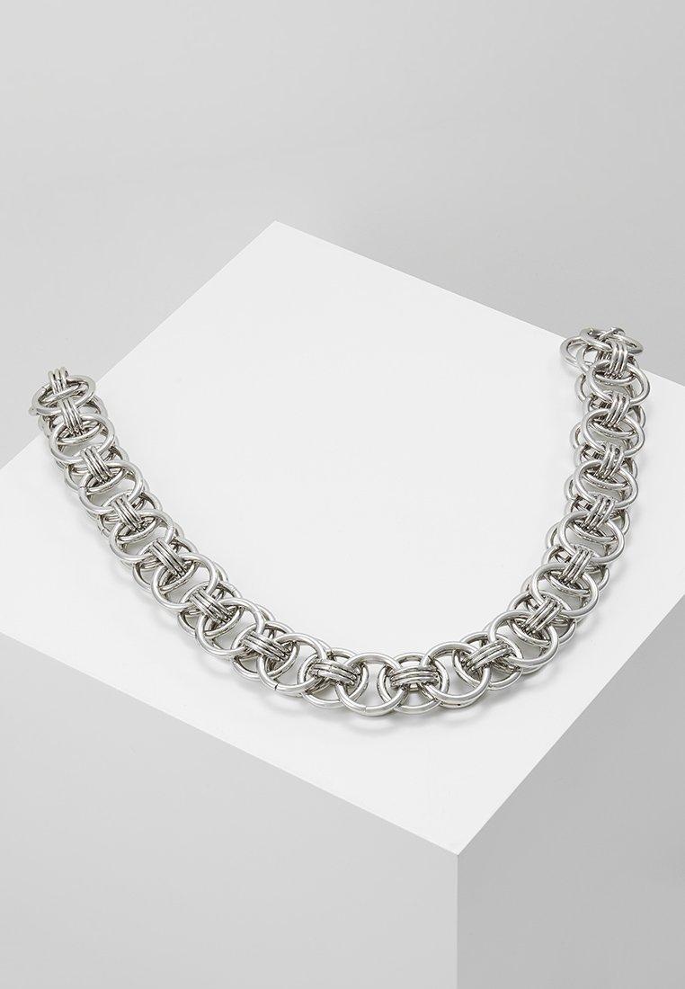 Hikari - CHUNKY CHAIN NECKLACE - Kaulakoru - silver-coloured