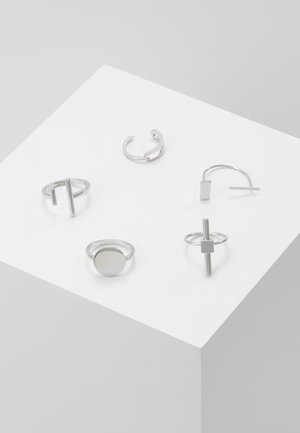 INDUSTRIAL 5 PACK - Prsten - silver-coloured