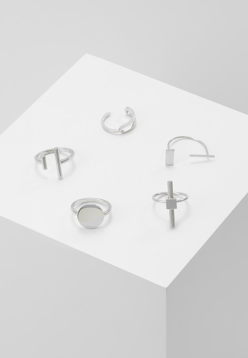 Hikari - INDUSTRIAL 5 PACK - Ring - silver-coloured