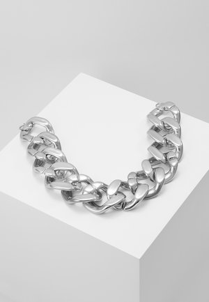 OVERSIZED CHAIN - Smykke - silver-coloured