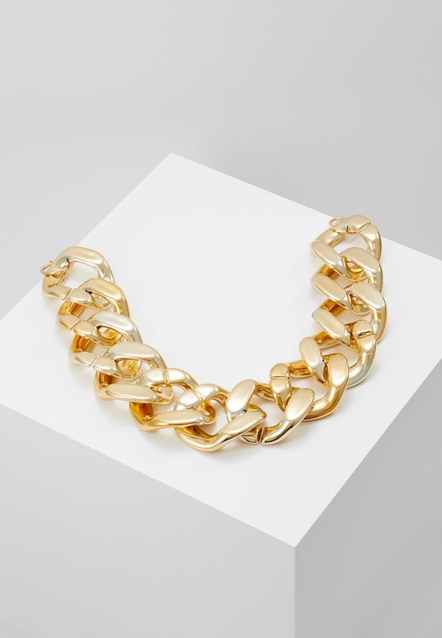 OVERSIZED CHAIN - Necklace - gold-coloured