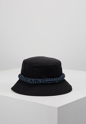 ROPE TRIM BUCKET HAT - Chapeau - black