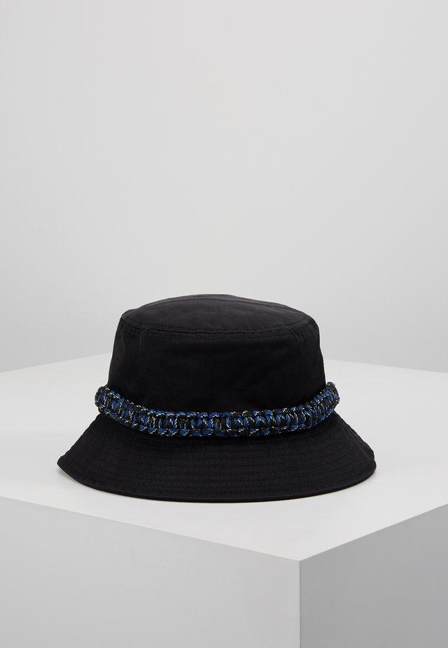 ROPE TRIM BUCKET HAT - Klobouk - black