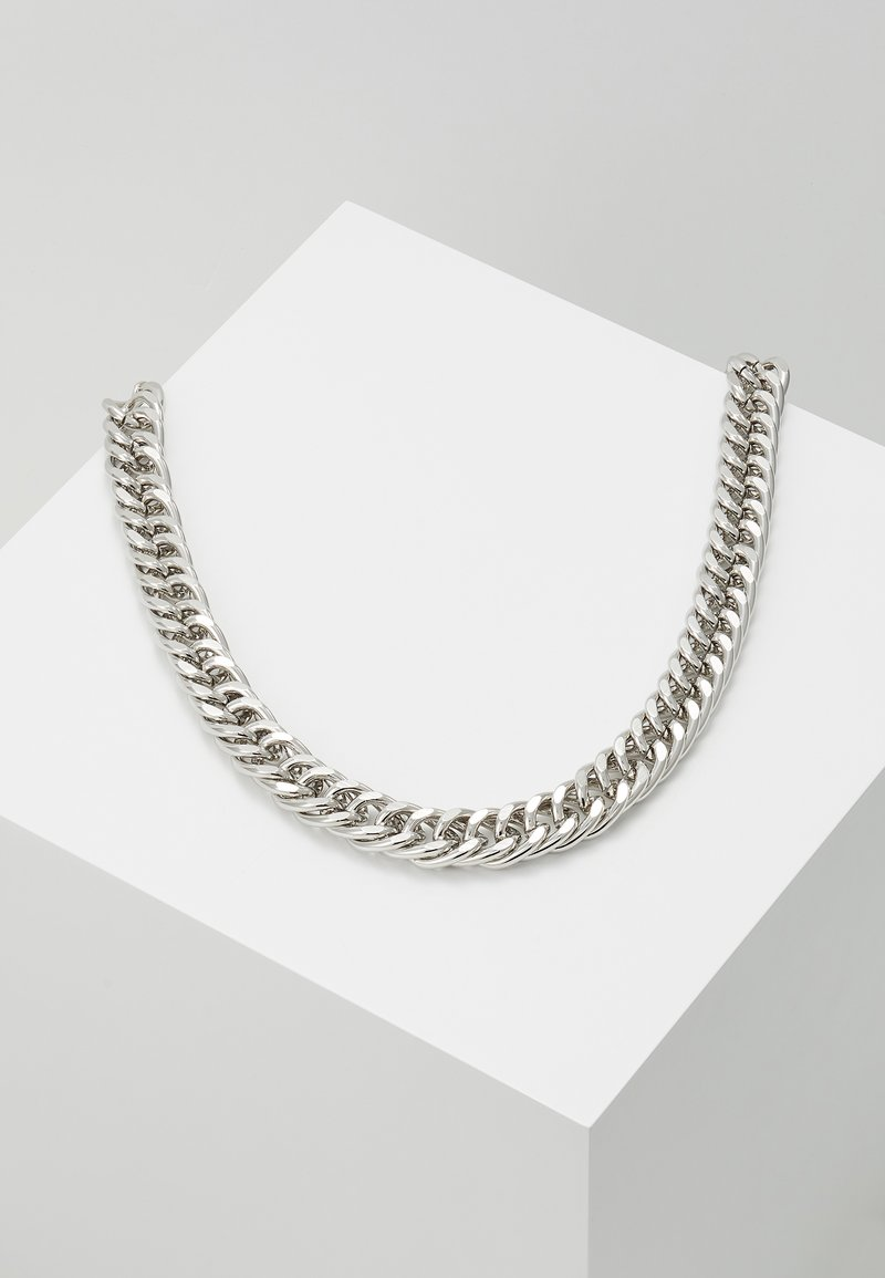 Hikari - THICK CHAIN - Halskette - silver-coloured