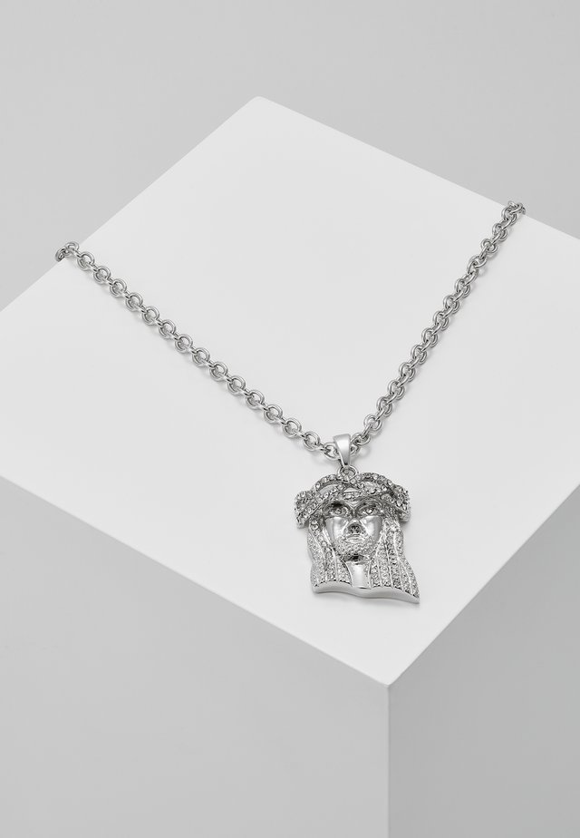 JESUS CHARM - Necklace - silver-coloured