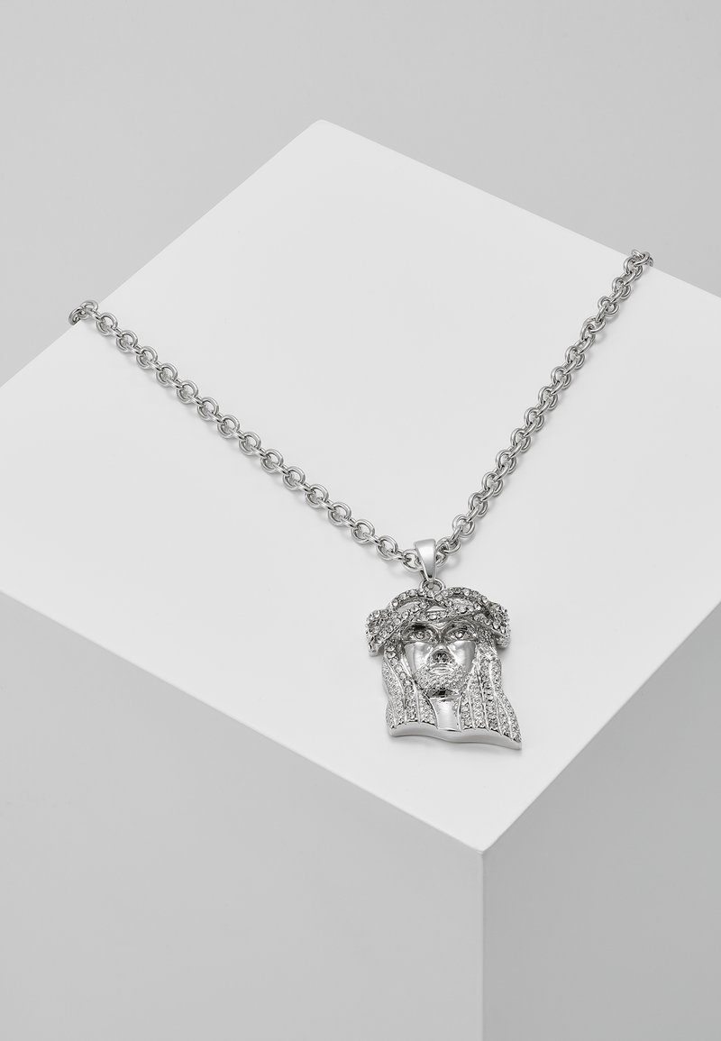 Hikari - JESUS CHARM - Necklace - silver-coloured