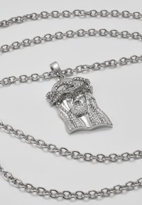 Hikari - JESUS CHARM - Necklace - silver-coloured - 5