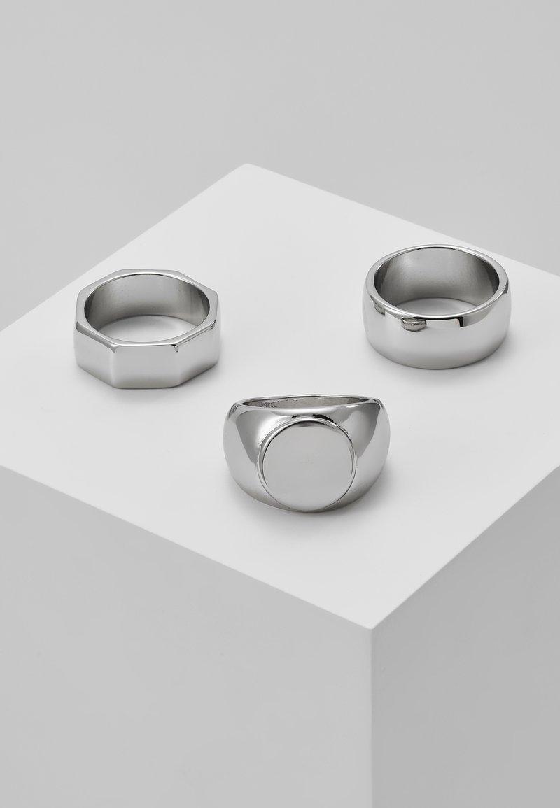 Hikari - 3 PACK - Ringe - silver-coloued