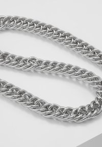 Hikari - THICK CHAIN - Necklace - silver-coloured - 5