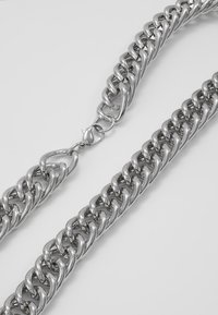 Hikari - THICK CHAIN - Necklace - silver-coloured - 2