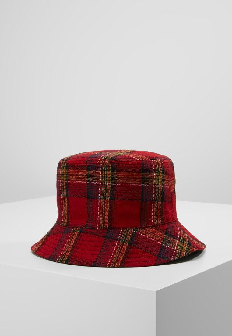 Hikari - CHECK PRINT BUCKET HAT - Hat - multi-coloured
