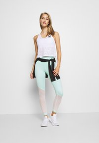 HIIT - STUDIO BURNOUT CROPPED VEST - Top - white - 1