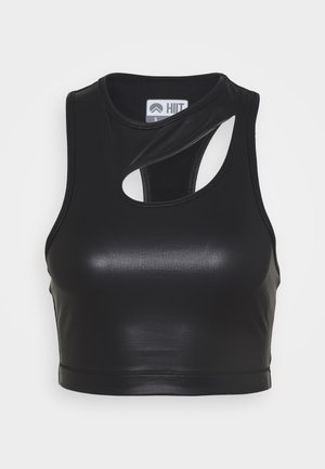 LUXE FINISH TANK - Débardeur - black