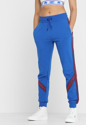 TAPED HIGHLIGHT JOGGER  - Tracksuit bottoms - blue