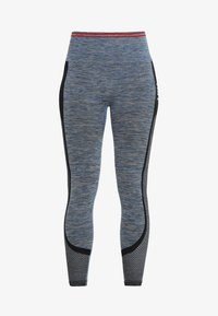 HIIT - SEAMLESS INJECTION SPORTS LEGGING - Trikoot - blue/red mix - 4