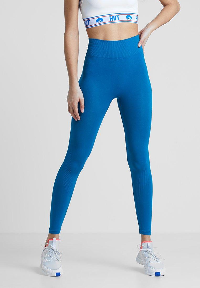 HIIT - ANNIKA SEAMLESS LEGGINGS - Tights - blue