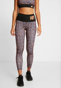 HIIT - HAWFINCH LEGGING - Medias - black - 0